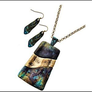 Jewelry - Pendant / Long Neck & Earring Set